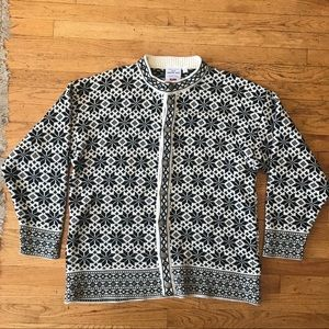 Oslo Sweater Shop Authentic Norway Cardigan L